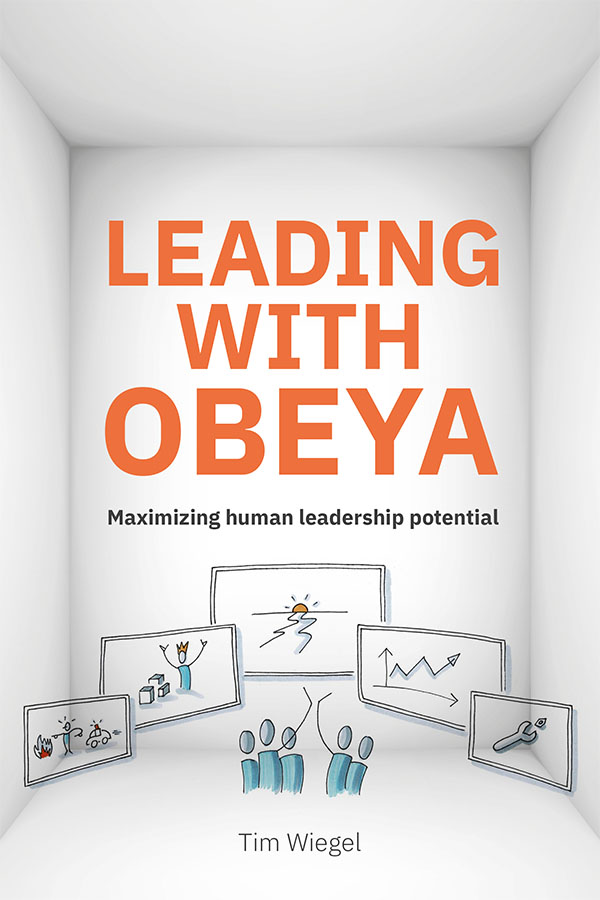 Leading with obeya omslag boek